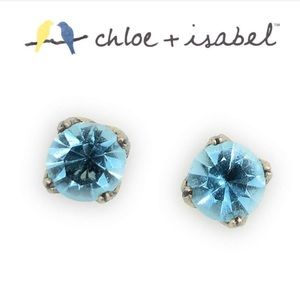 Blue Topaz Earrings - Chloe + Isabel